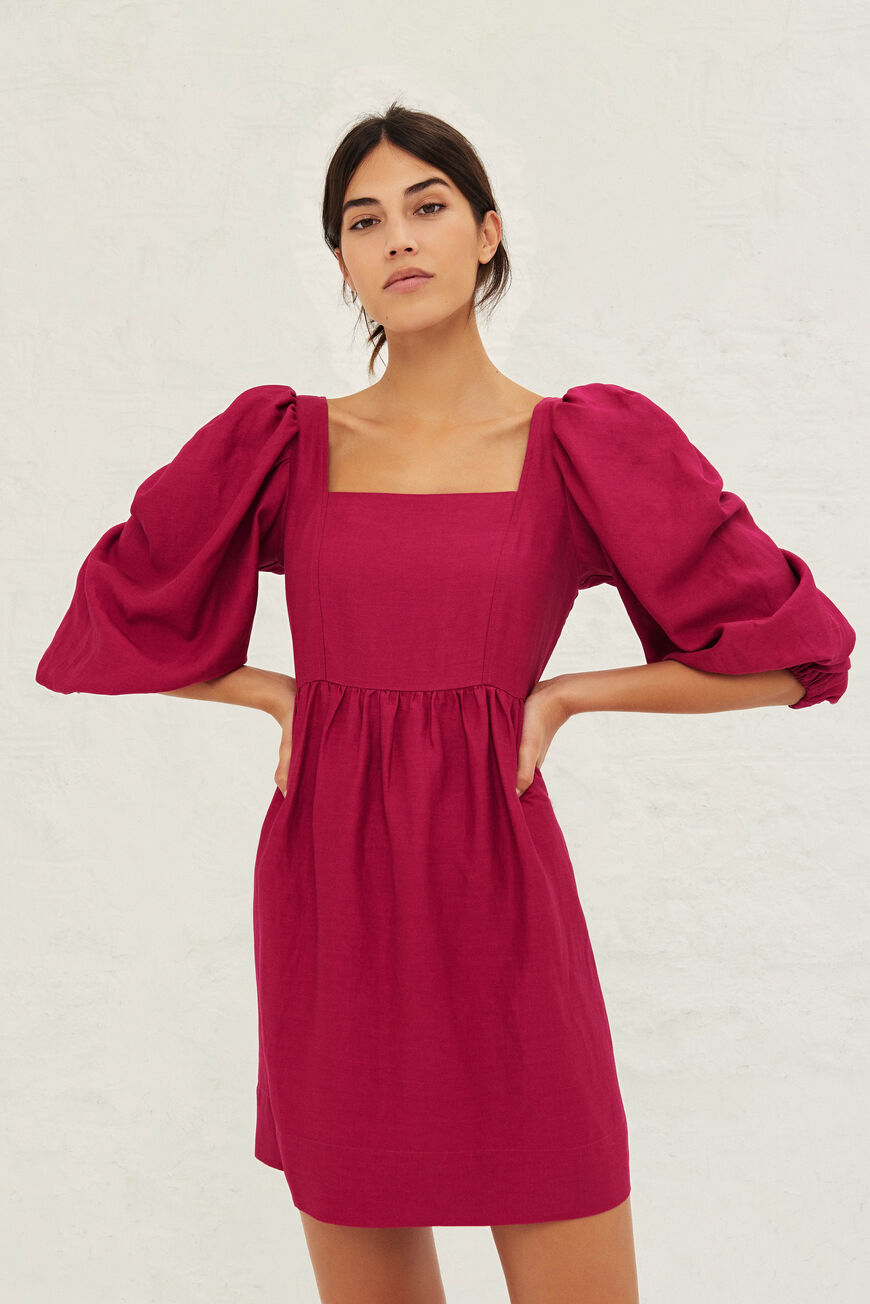 PALERME DRESS DRESSES FRAMBOISE