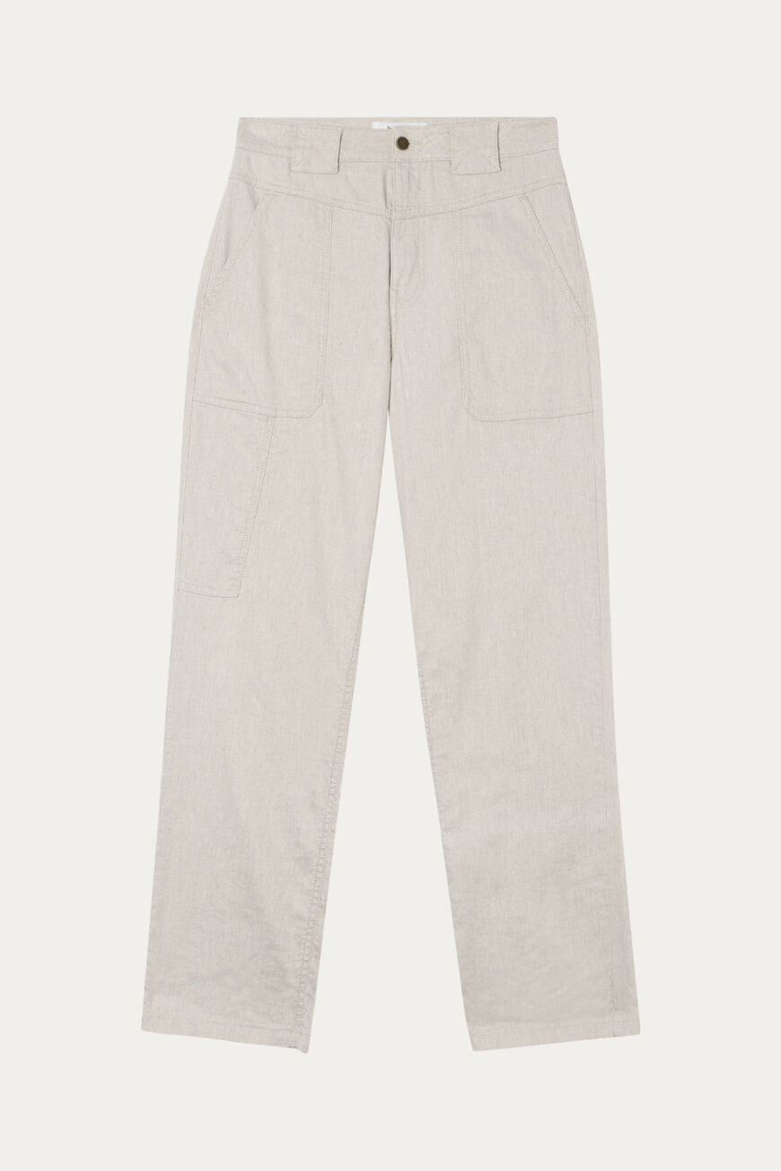 CURIOUS TROUSERS TROUSERS & JEANS NATUREL