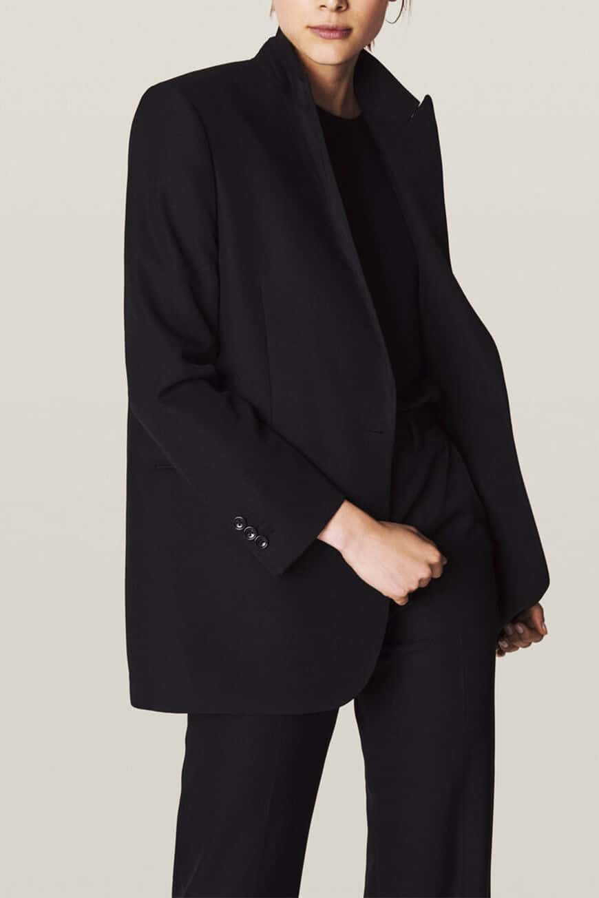 SASHA JACKET Jackets & Coats NOIR