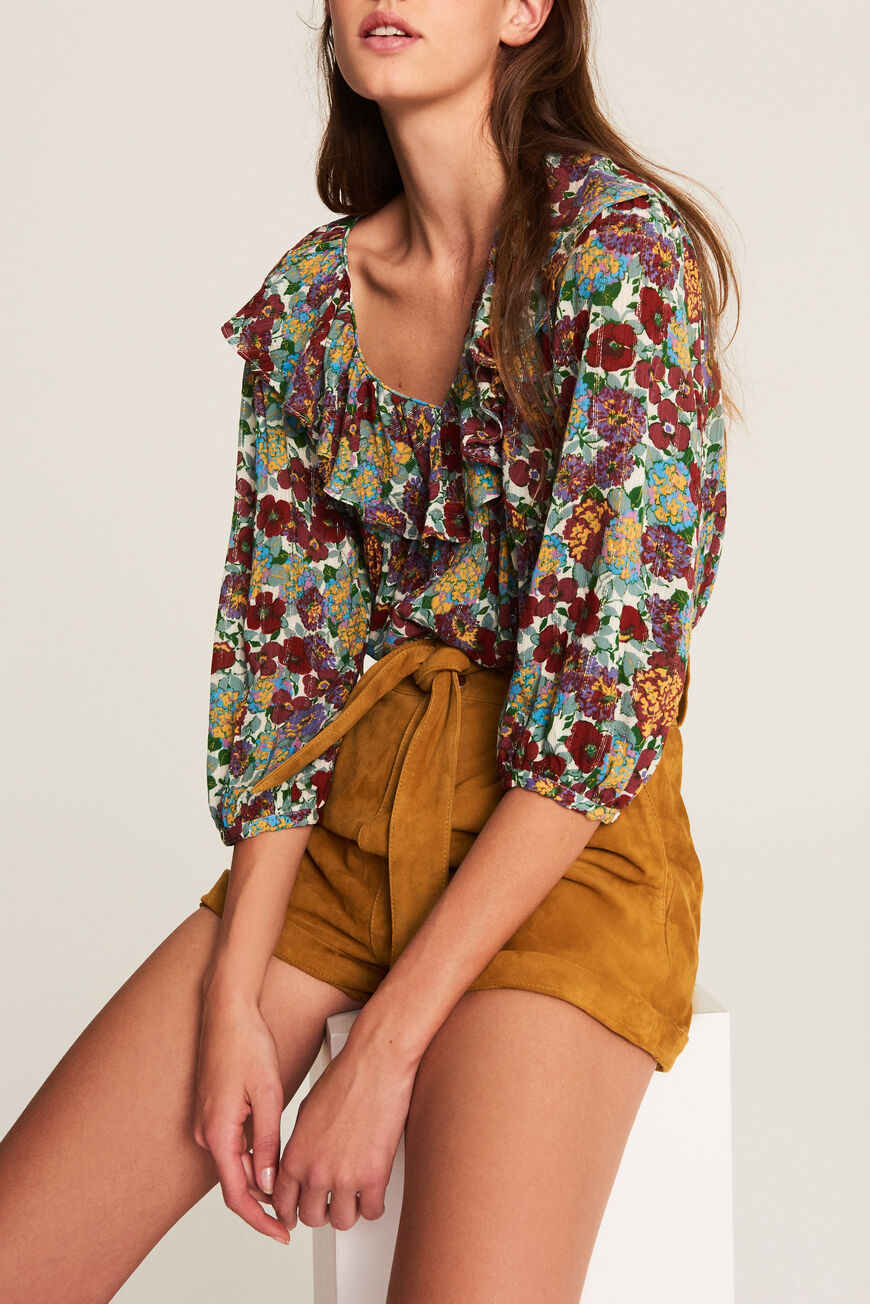 TOP POLLY TOPS & CHEMISES MIEL