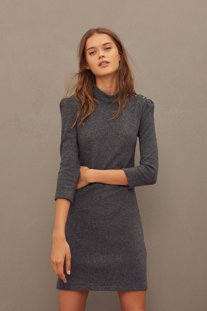 WINNIE DRESS -40% off ANTHRACITE