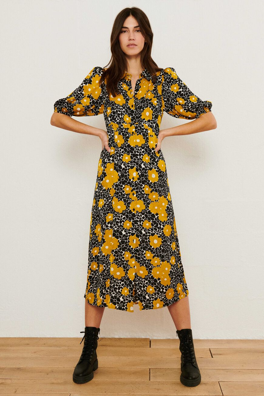 ROBE BABETH ROBES MIDI CURRY