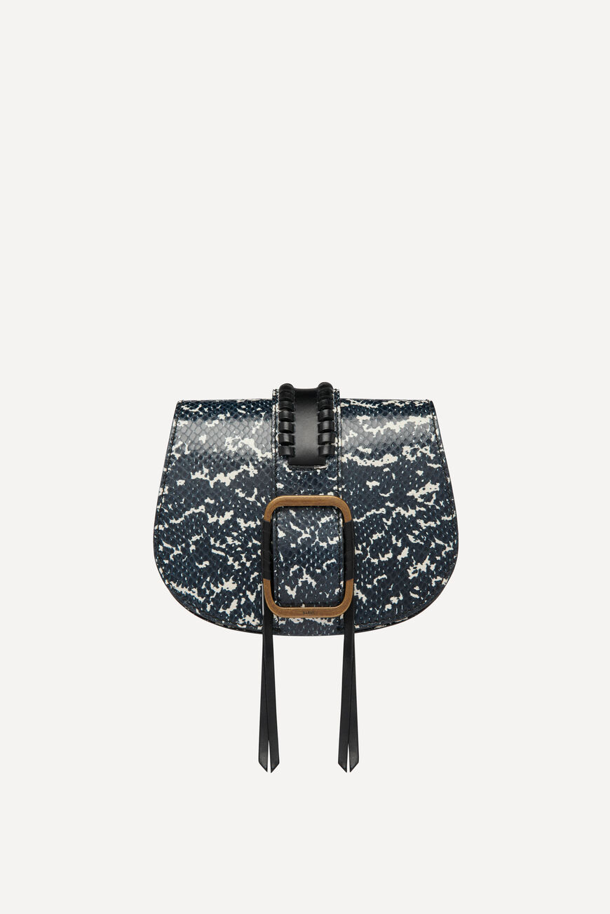TEDDY S PYTHON PRINT BAG -50% off
