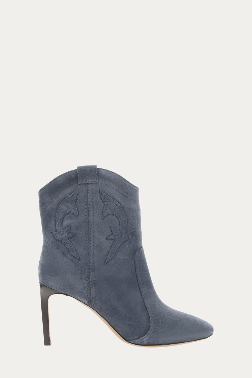 BOTTINES CAITLIN -50% BLEUGRIS
