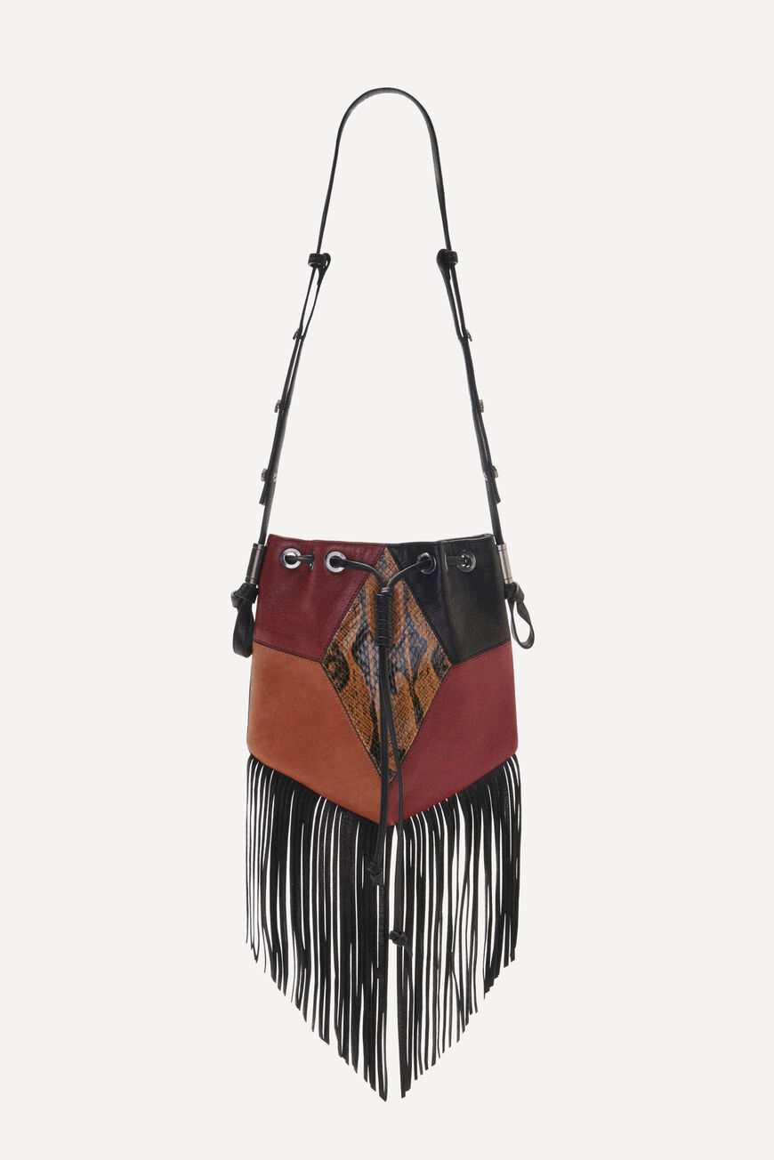 POUCH-BAG SPARROW CROSSBODY BAGS MOUTARDE