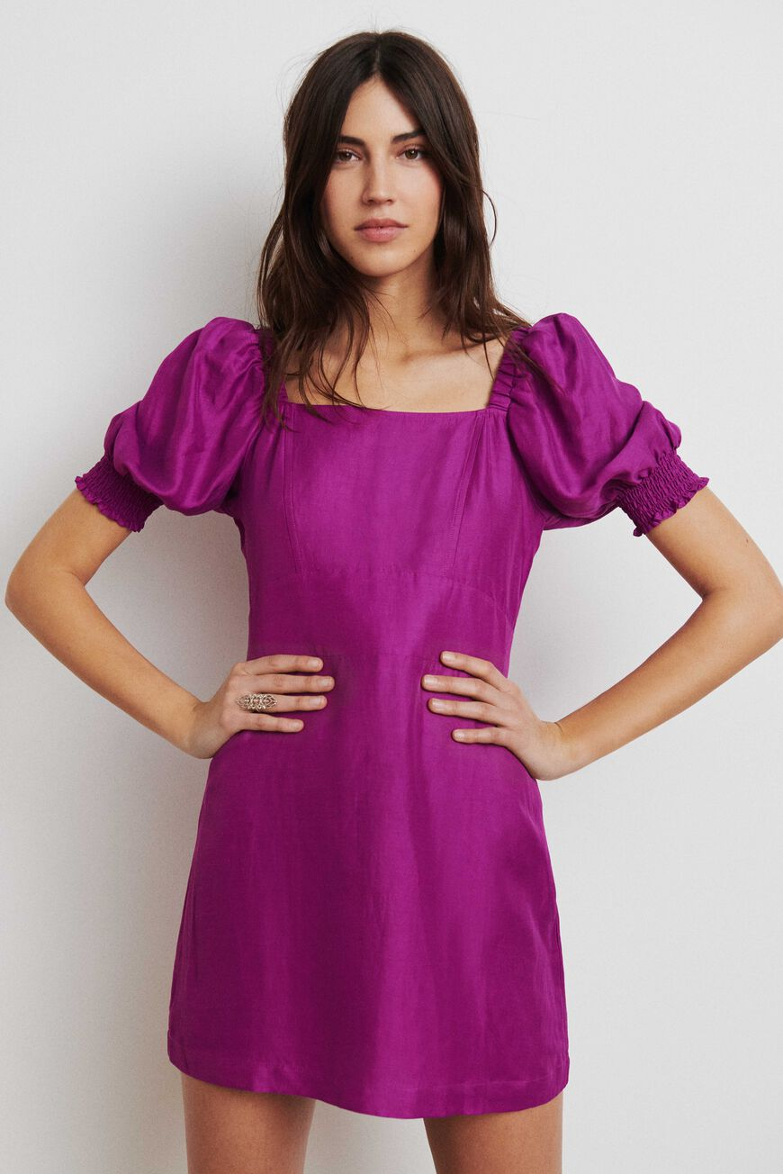DRESS PALAIA MINI DRESSES VIOLET