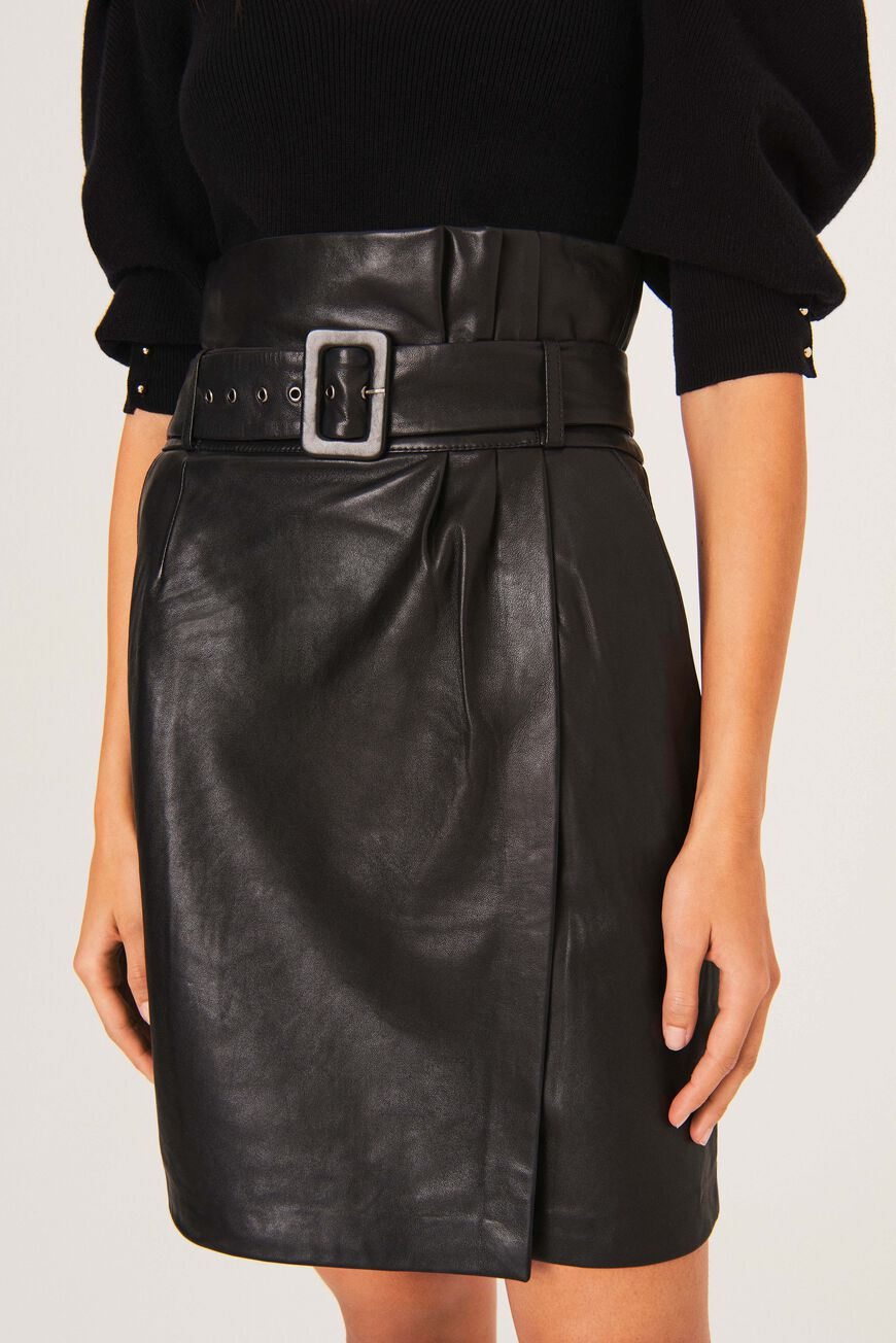 FIDJI SKIRT LEATHER
