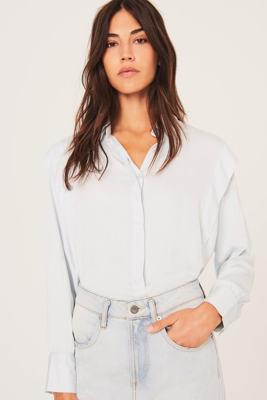 SHIRT ALIA TOPS & SHIRTS BLEUCIEL
