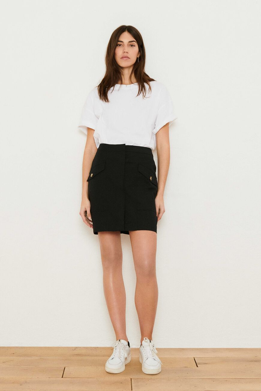 SKIRT WIN SKIRTS NOIR