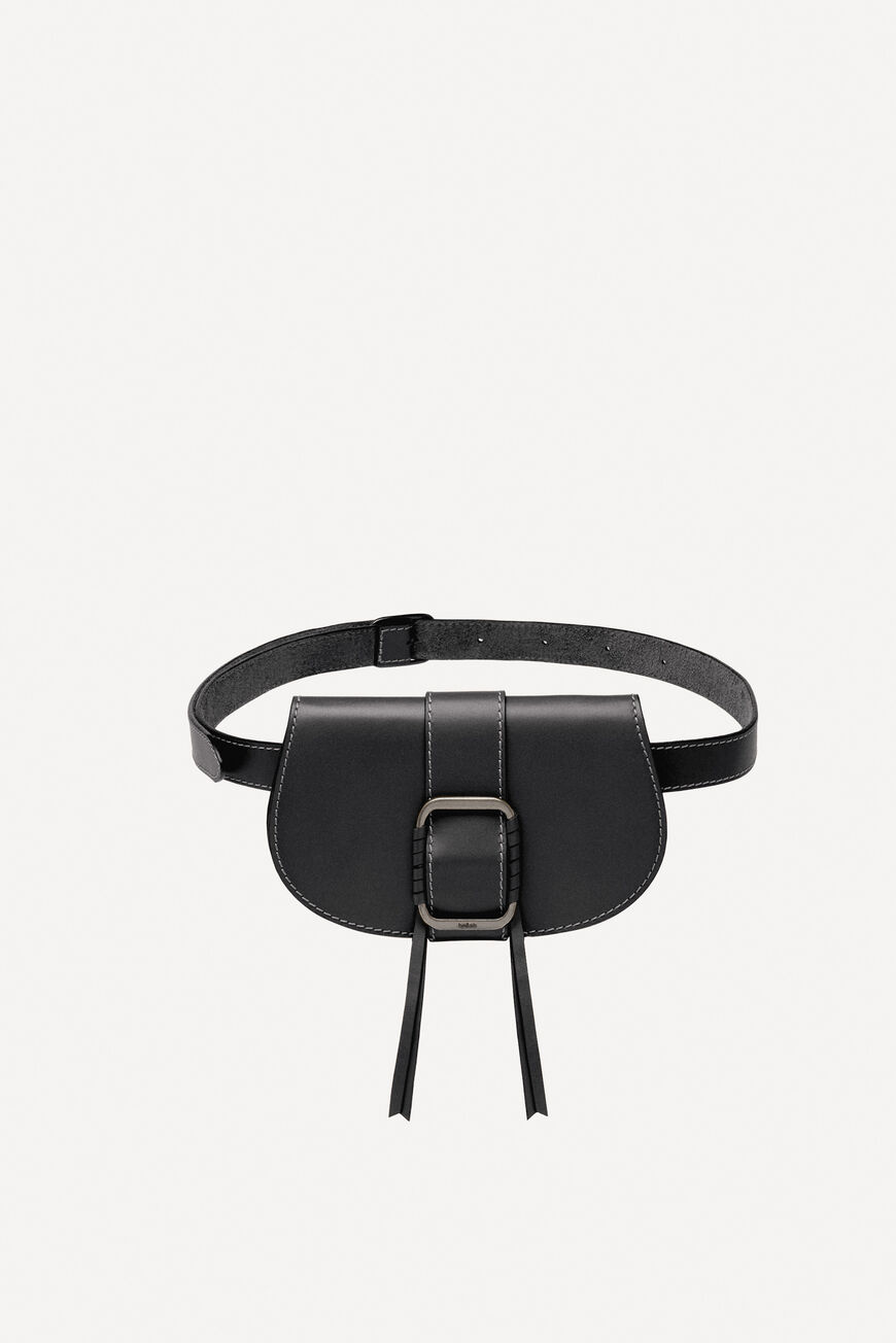 TEDDY LEATHER BUMBAG HOMEWEAR NOIR