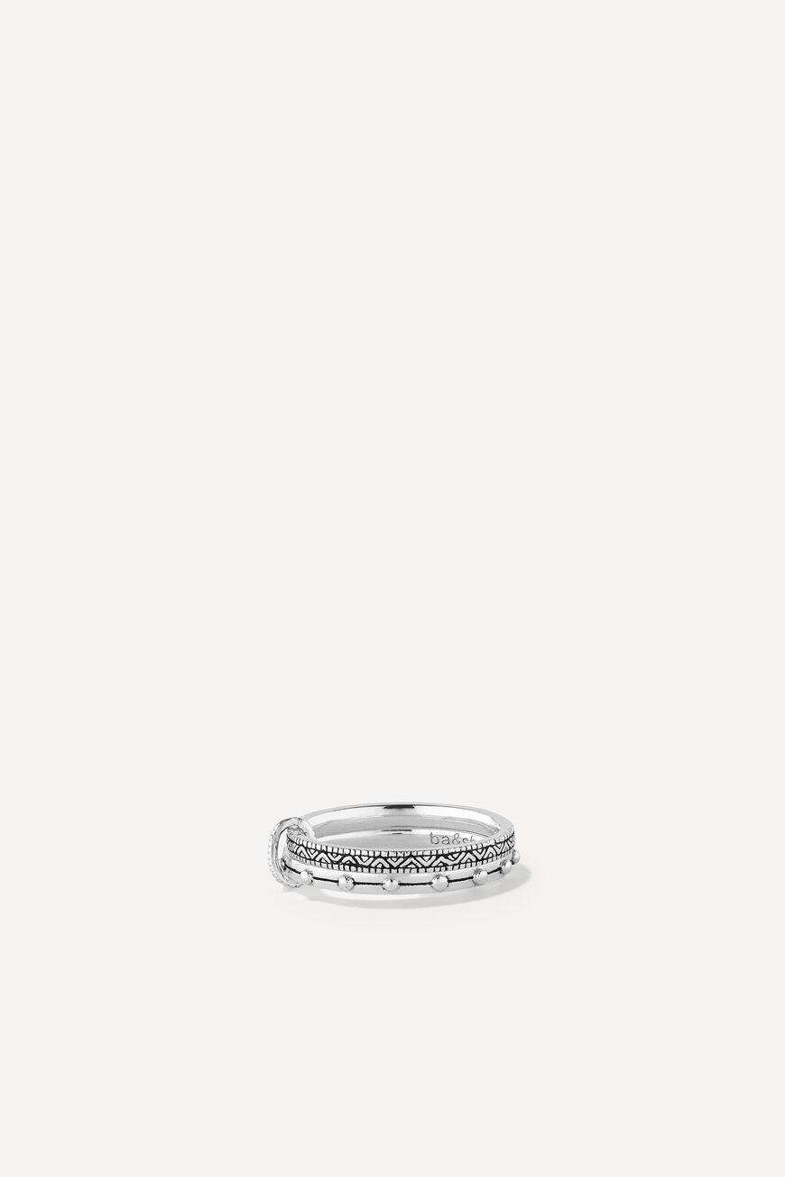 RING ROMY JEWELS ARGENT