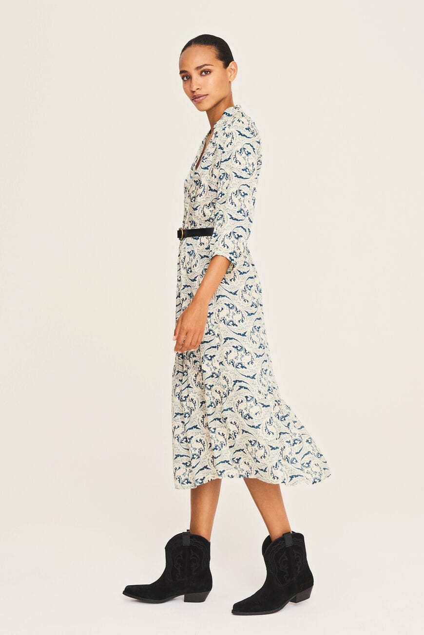JURK SONG MIDI DRESSES