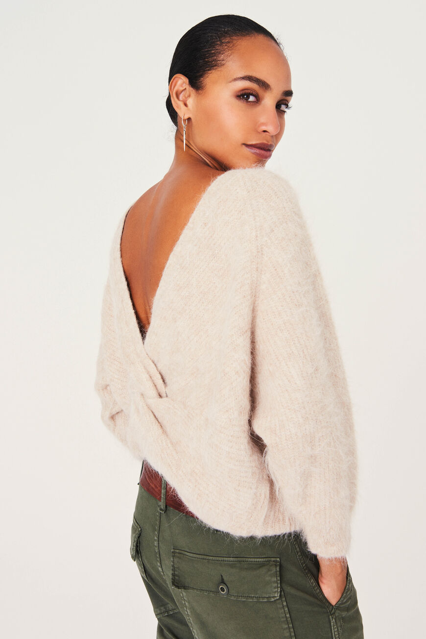 PULL FILL winter essentials BEIGE