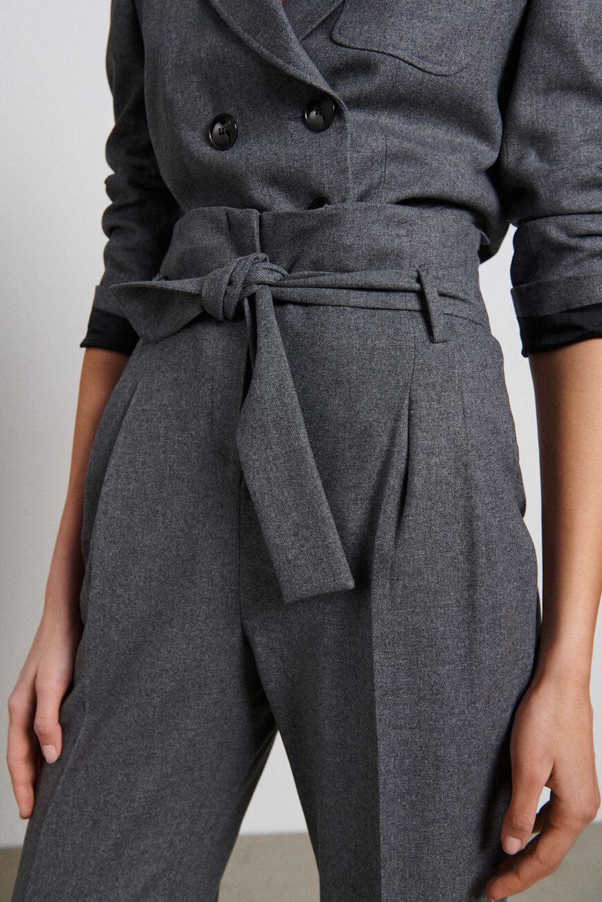 TROUSERS BOMMY TROUSERS ANTHRACITE BA&SH
