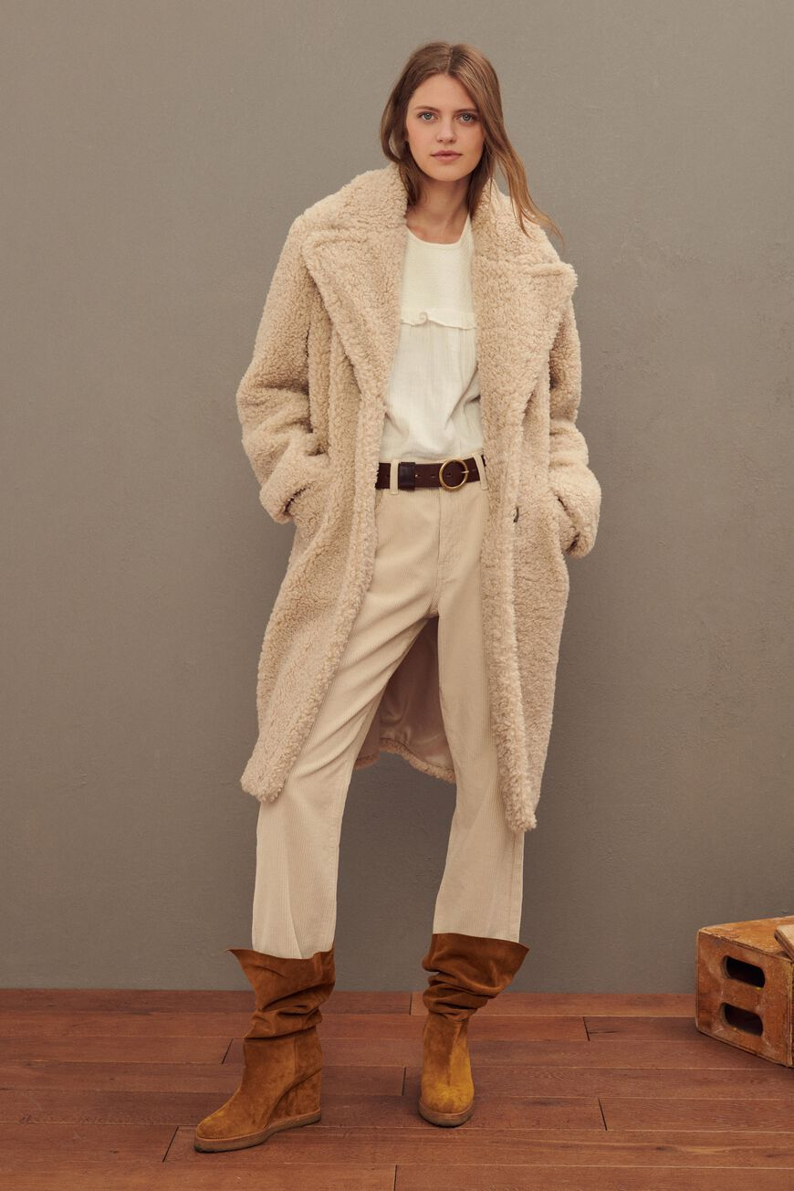 COAT YONI COATS BEIGE