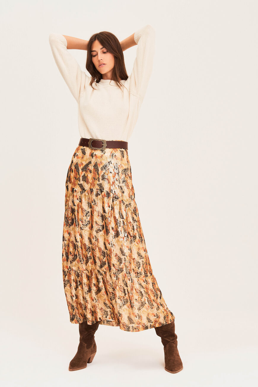 SKIRT GALINA JUPES OCRE