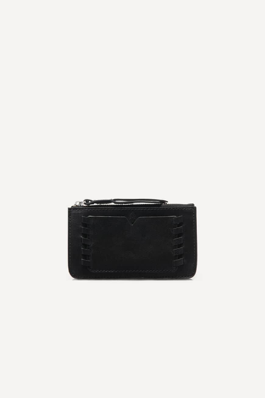 WESTERN CARDHOLDER SMALL LEATHER GOODS NOIR