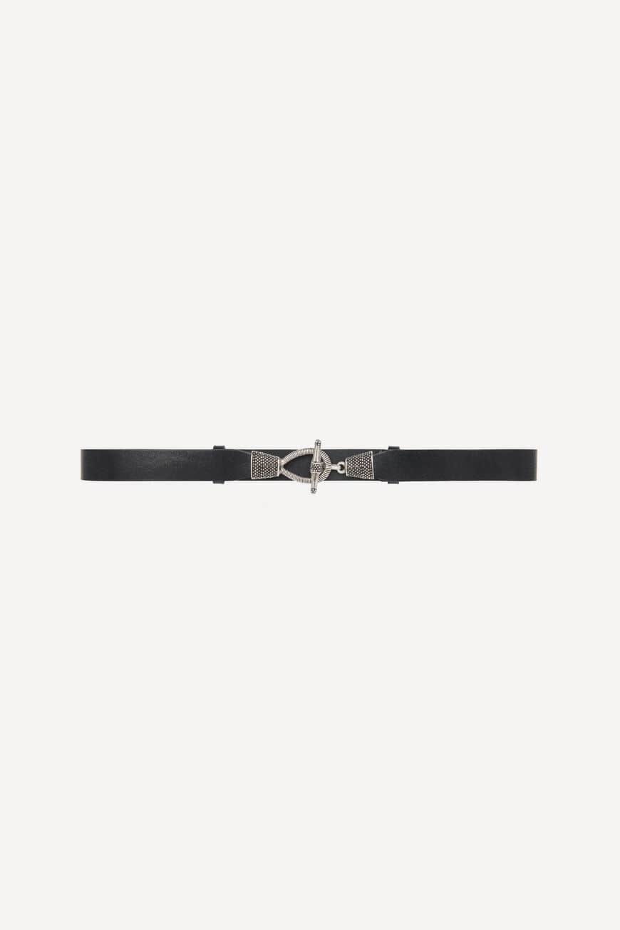 BELT BASILE BELTS NOIR