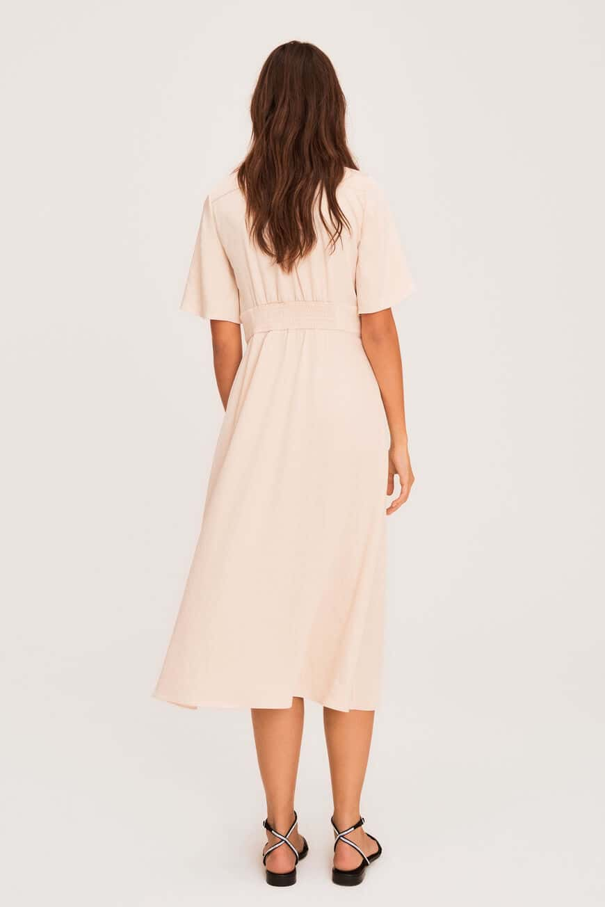 PAMELA DRESS MIDI DRESSES
