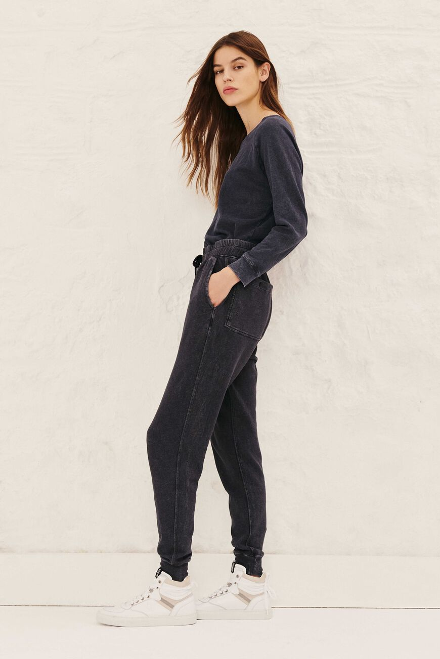 JOGGINGBROEK RARRY TROUSERS ANTHRACITE
