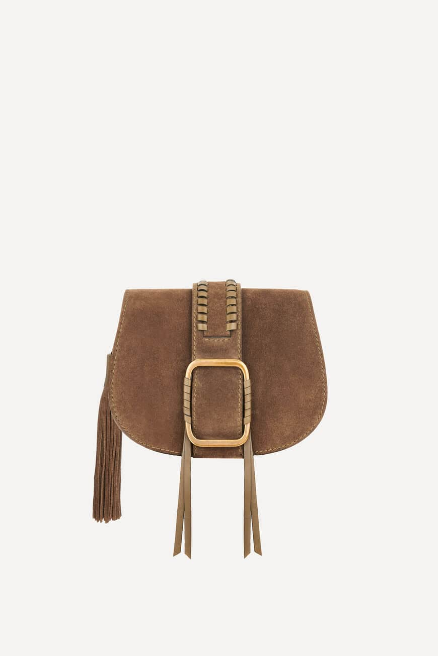 TEDDY S SUEDE BAG TEDDY