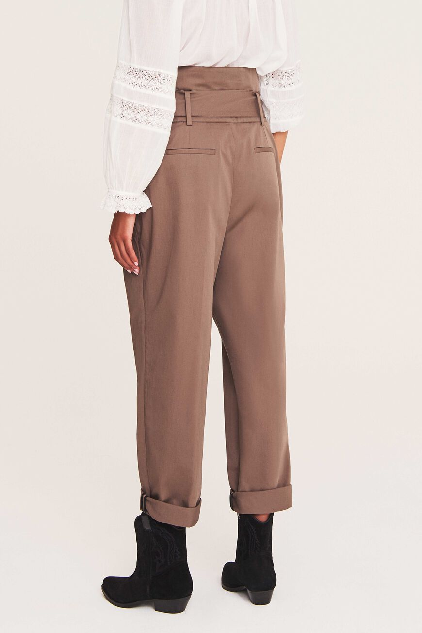KHOL PANTS TROUSERS & JEANS TAUPE