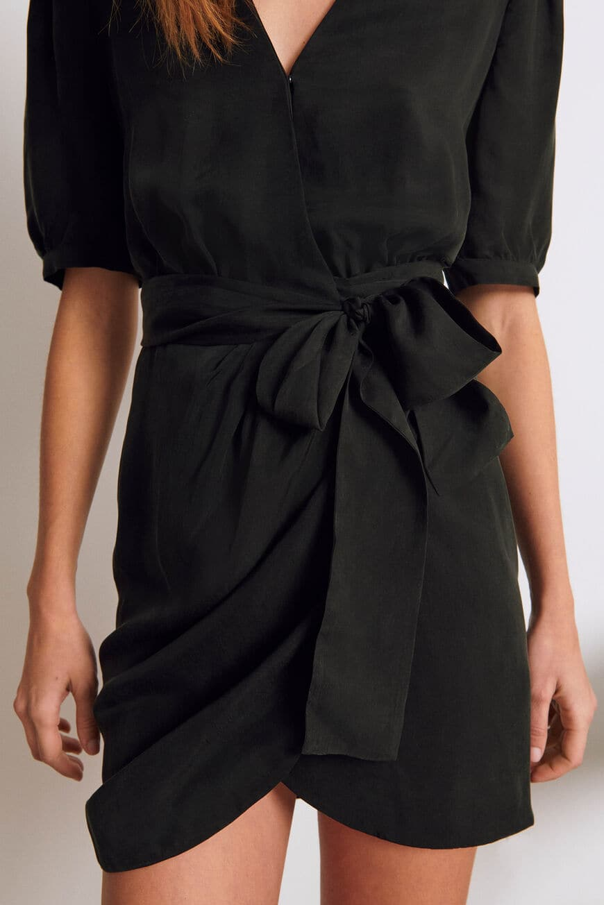 KLEID ADA MINI DRESSES NOIR BA&SH