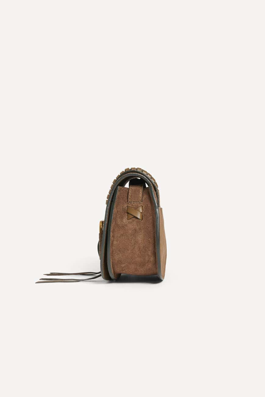 TEDDY S SUEDE BAG Main
