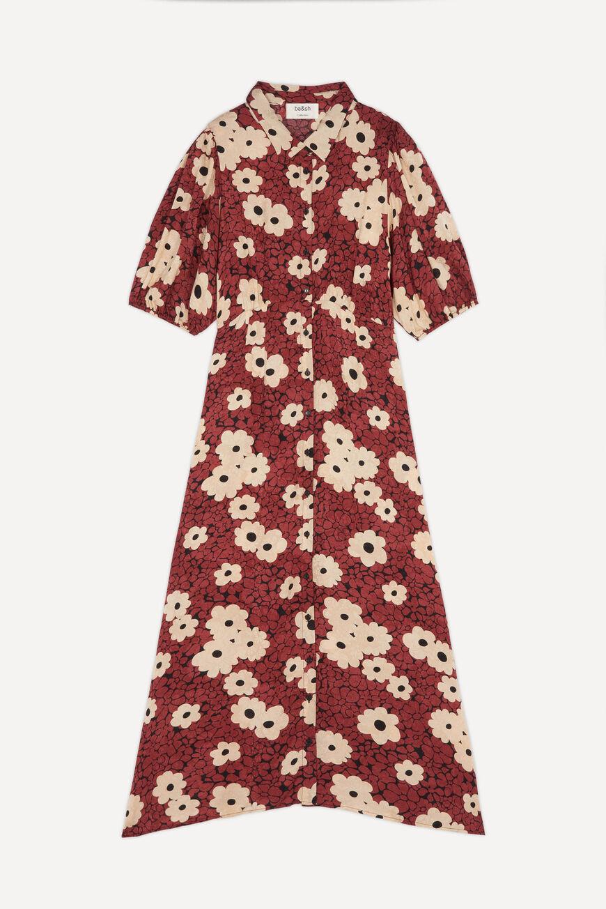 DRESS BABETH MIDI DRESSES ROUILLE