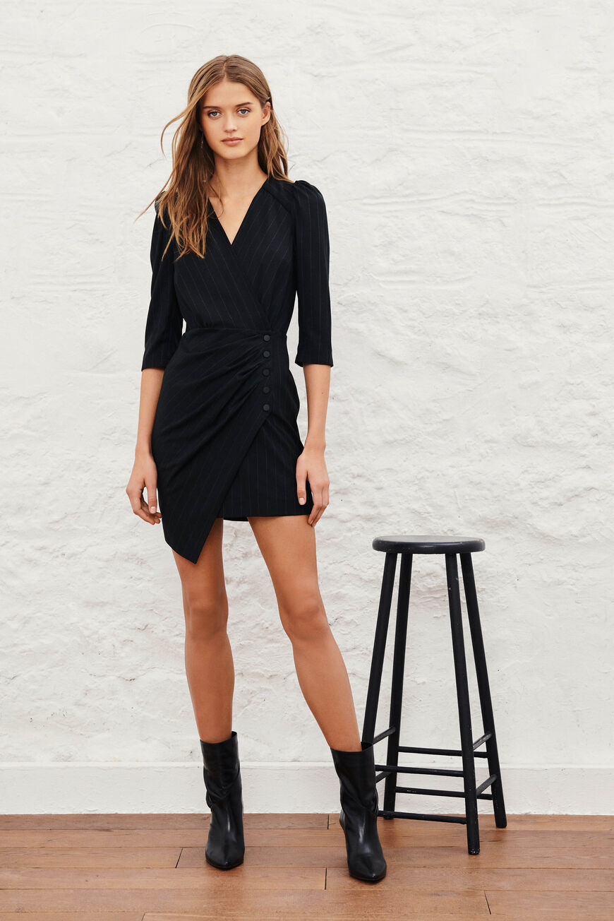 DRESS BLISS MINI DRESSES NOIR