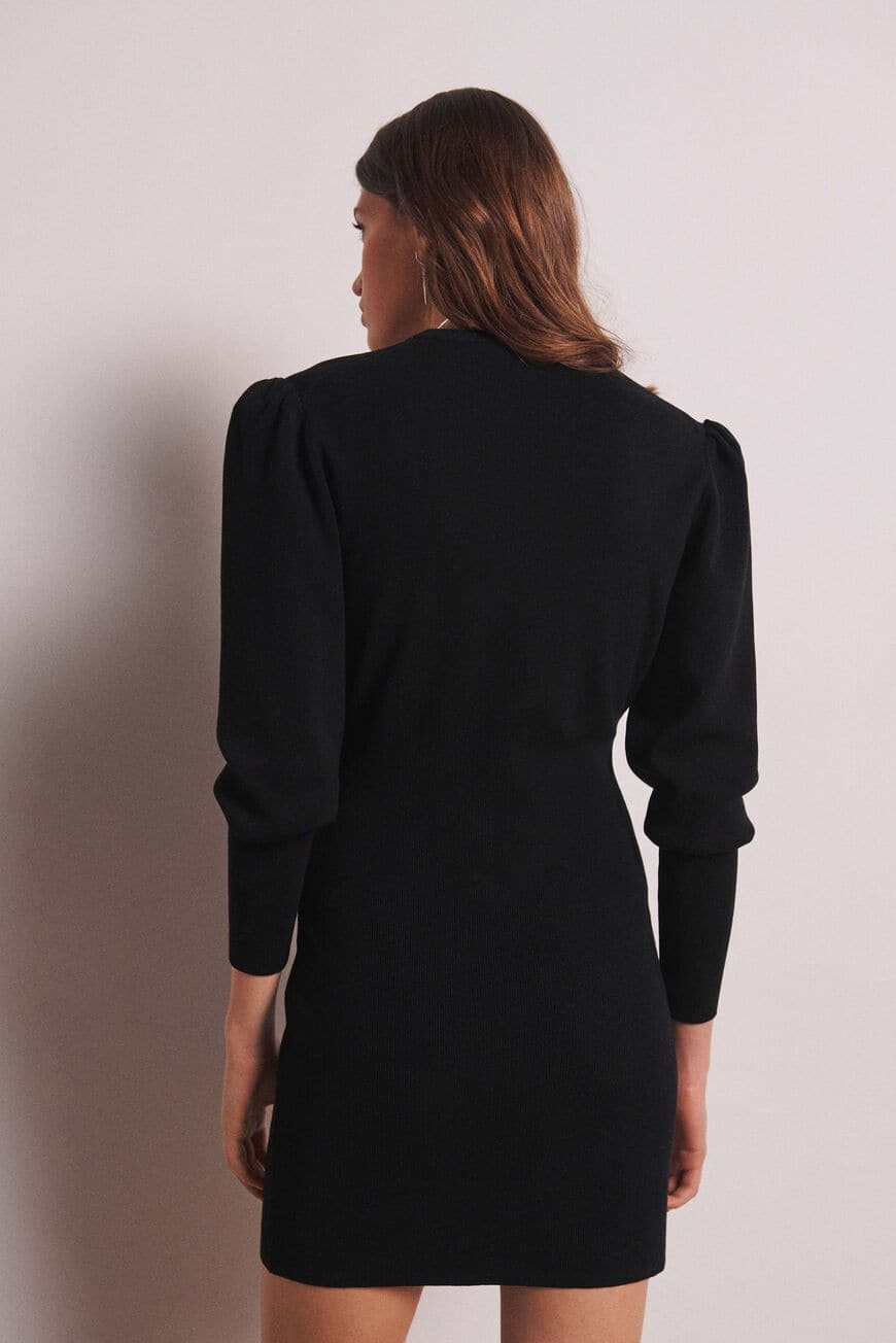 VESTIDO SALOME MINI DRESSES NOIR BA&SH
