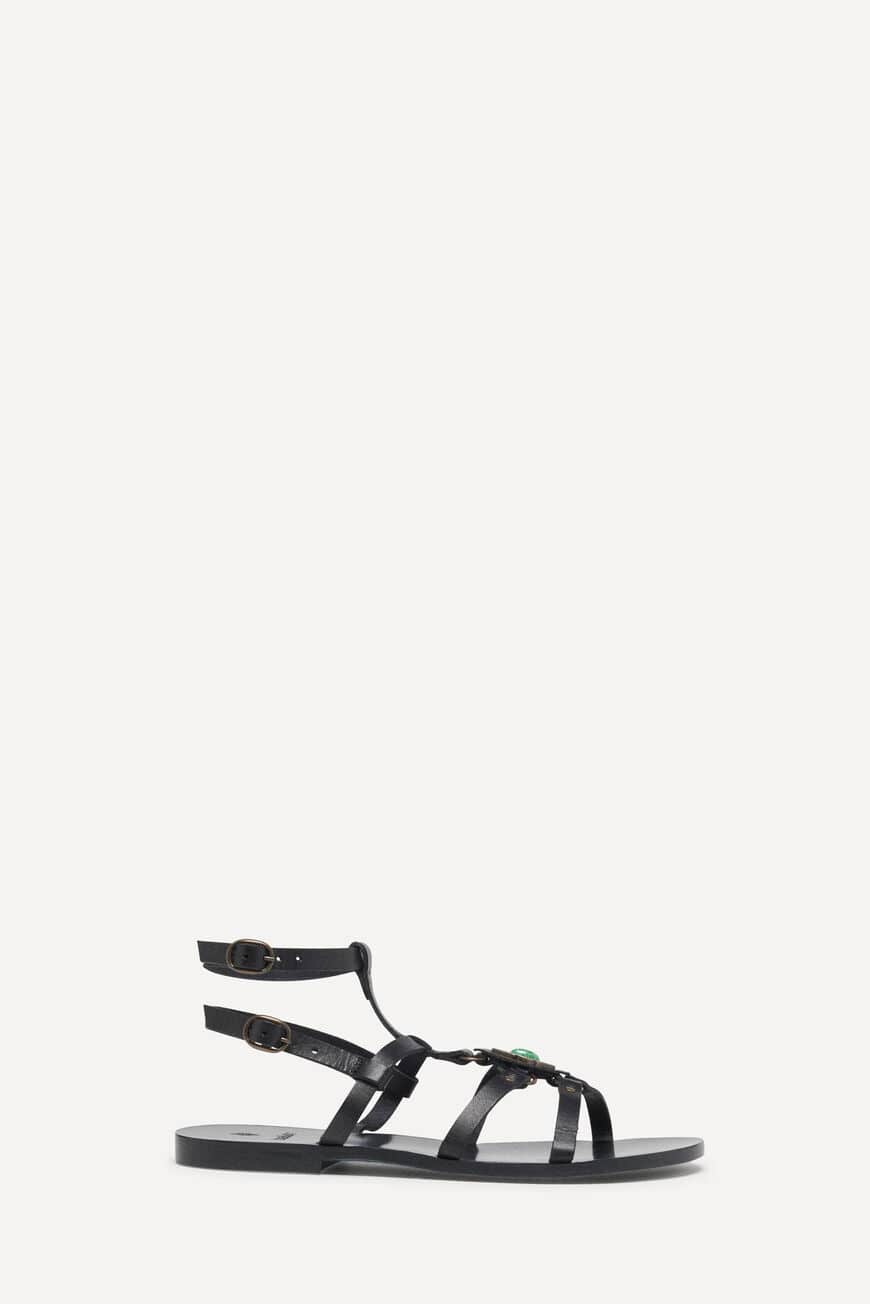 SANDALETTEN CYANA PUMPS AND SANDALS NOIR