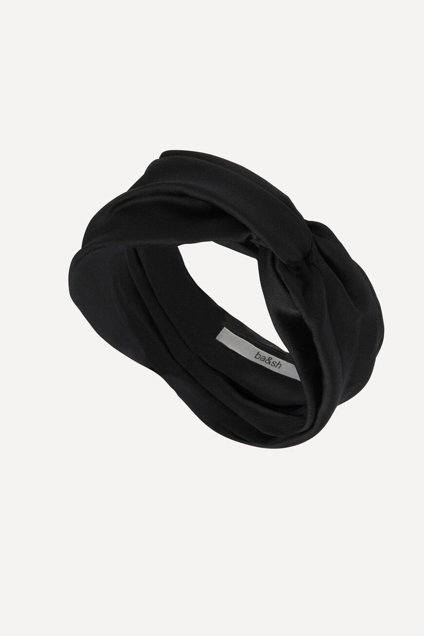 TURBAN HURBAN HAIR ACCESSORIES NOIR