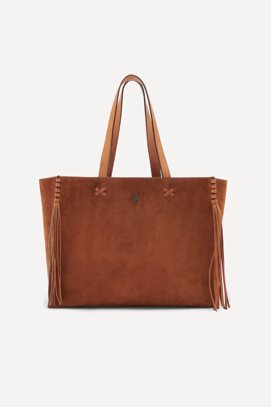 TOTEBAG TEDDY Workwear COGNAC