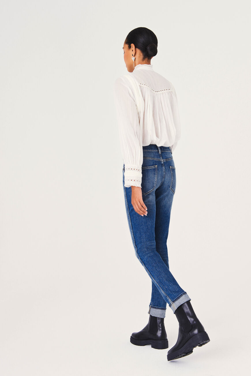 JEANS JACEY TROUSERS & JEANS HANDBRUSH