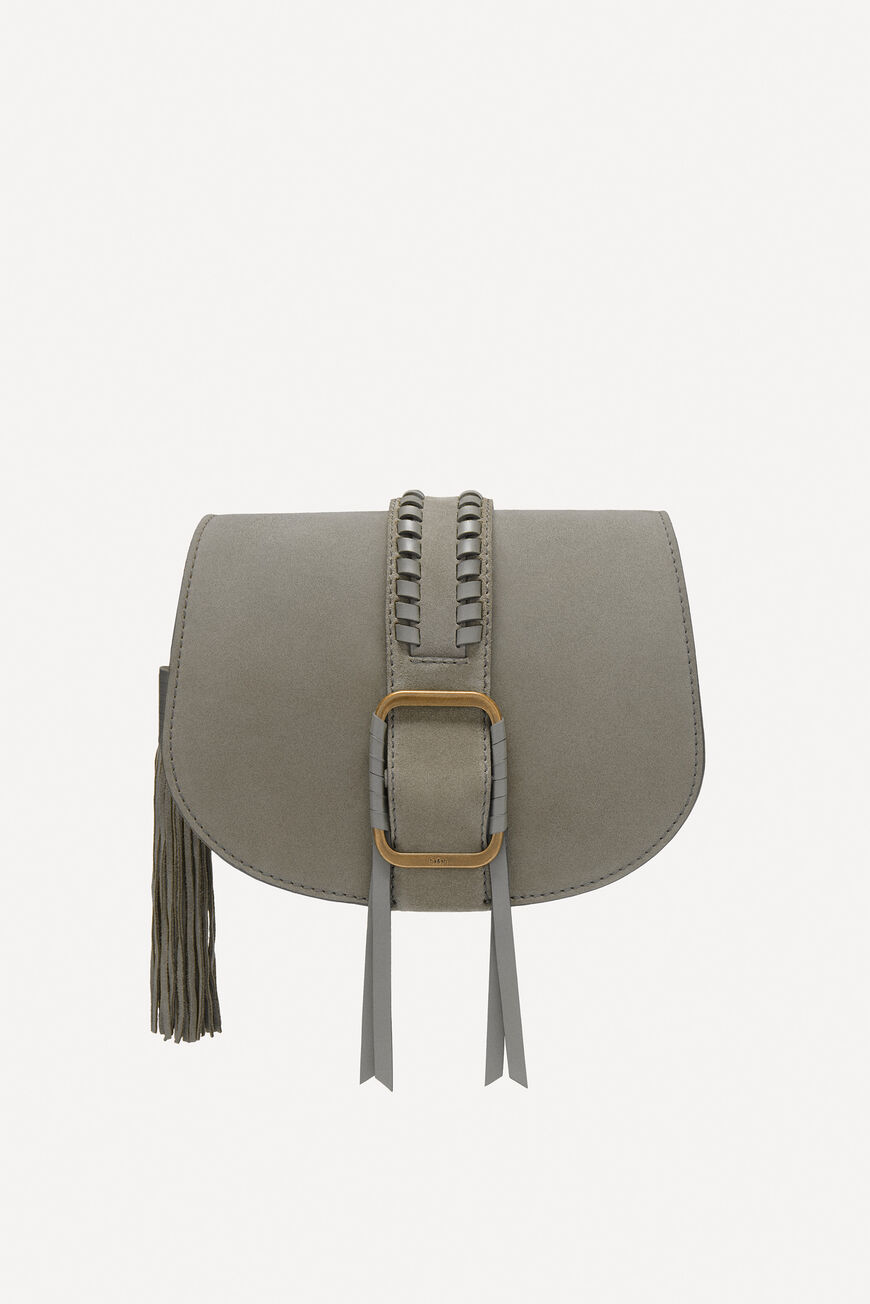 TEDDY M SUEDE BAG -40% off