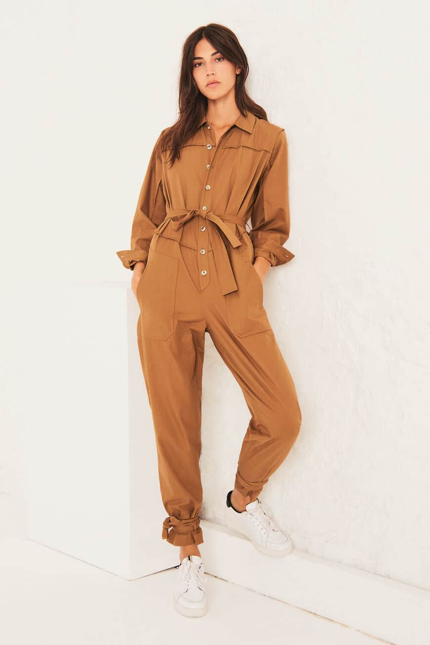 JUMPSUIT CHRIS Jumpsuits CAMEL