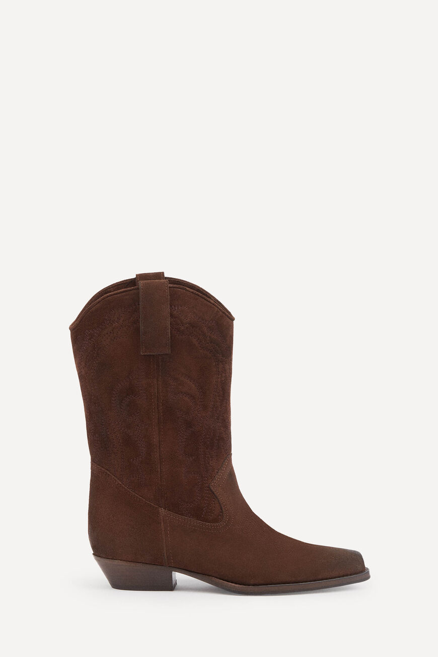 BOOTS SCRU SHOES MARRON