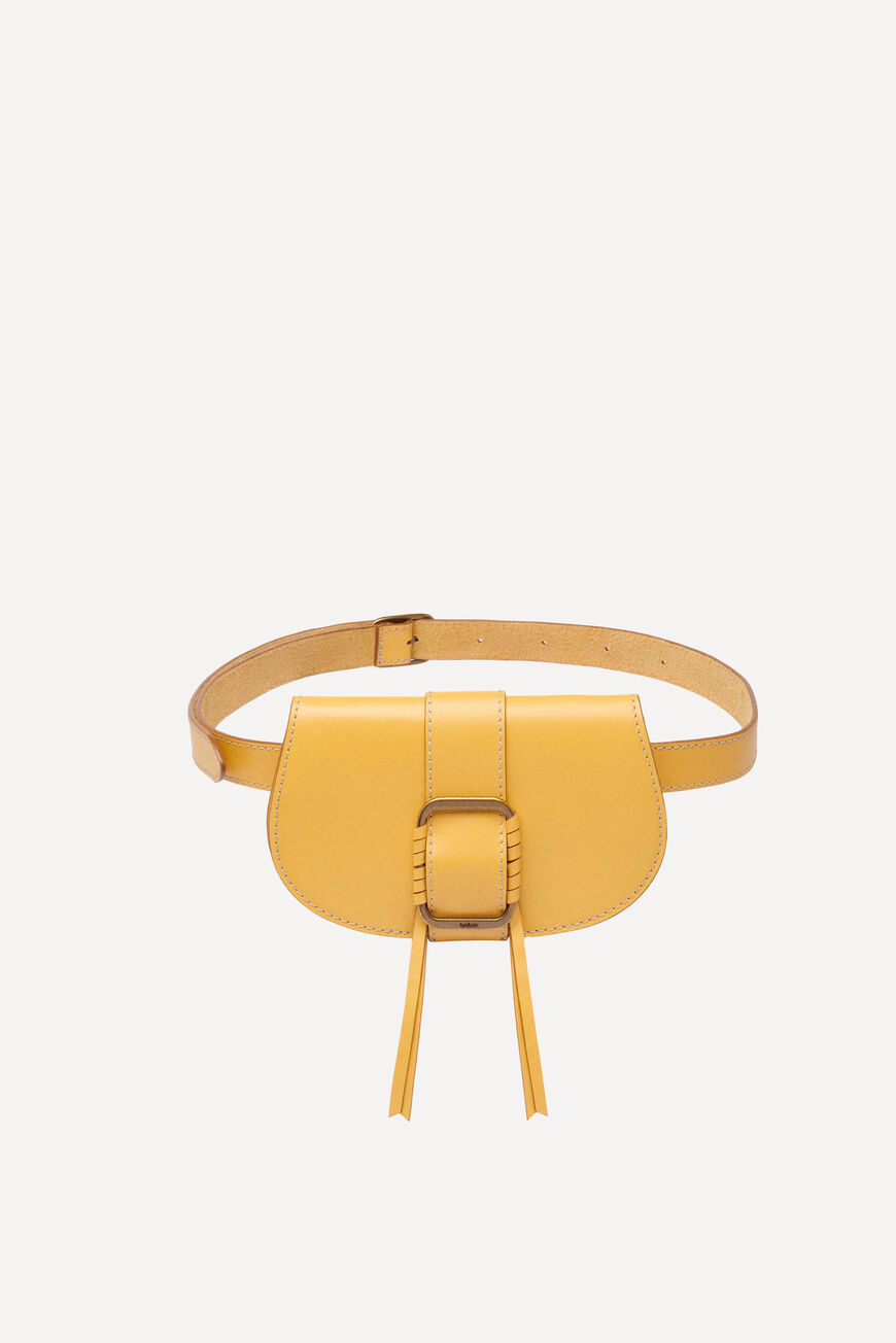 TEDDY LEATHER BUMBAG -40% off