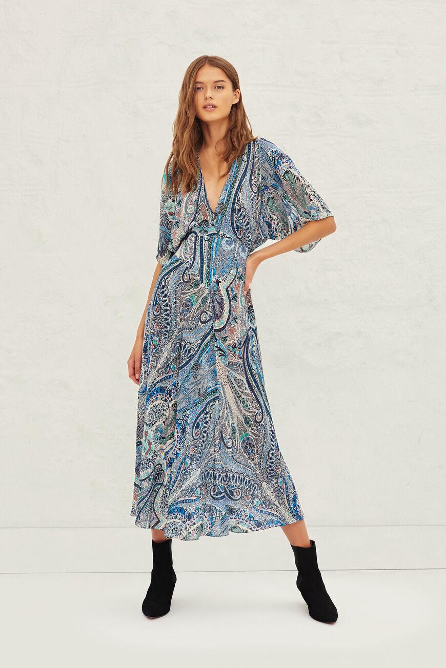 DRESS BEE MAXI DRESSES BLEU