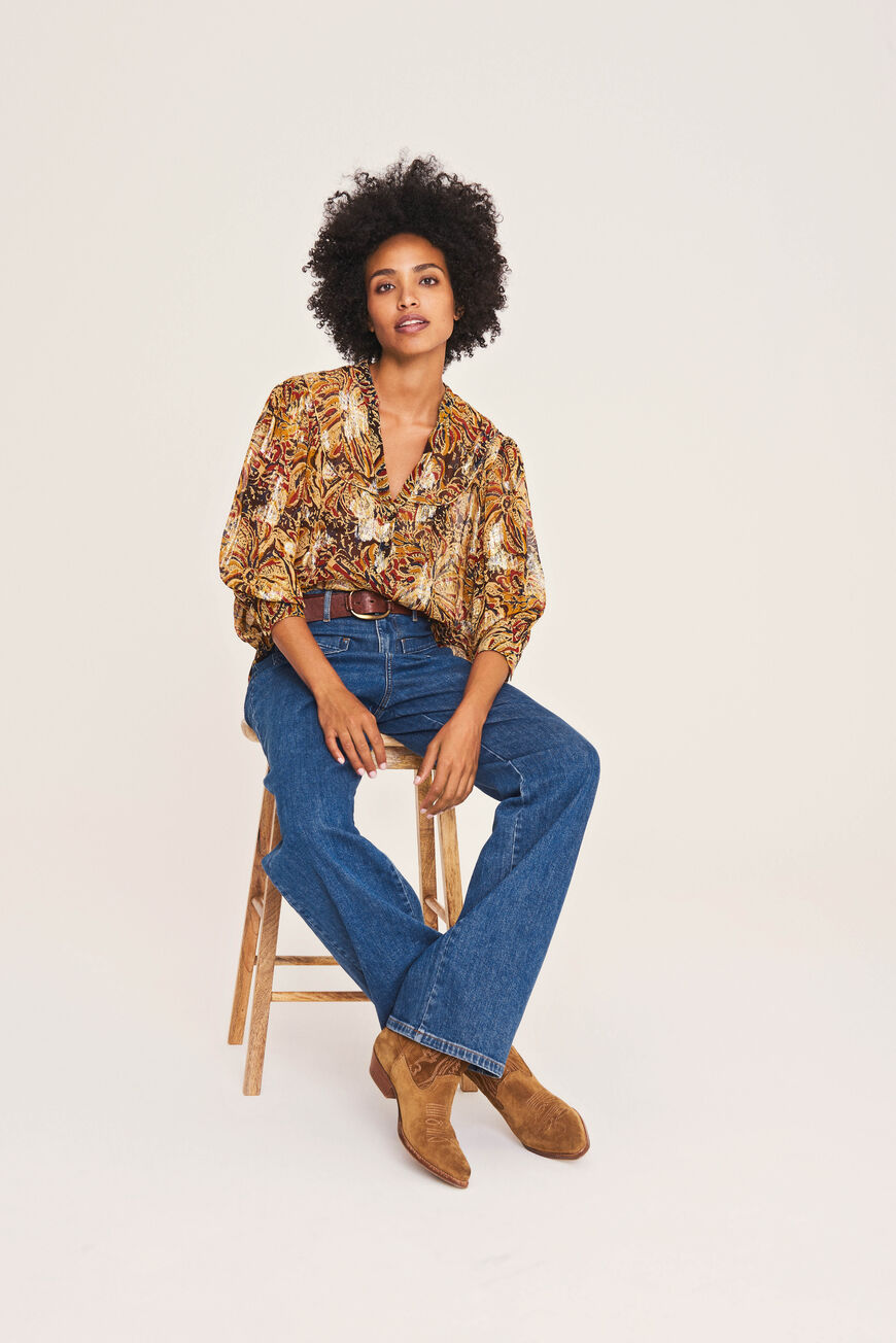 QUINCY BLOUSE -40% off OR