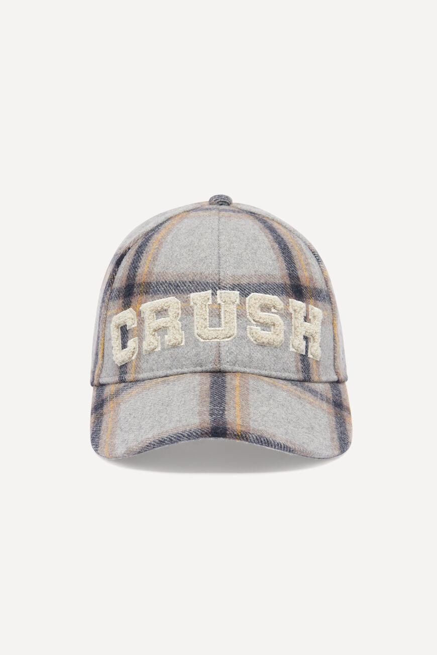 GORRA HIGHSCHOOL HATS & CAPS GRIS BA&SH