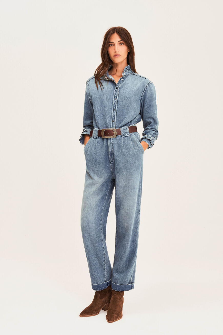 PANTALON SAXO JEANS LIGHTUSEDBLUE
