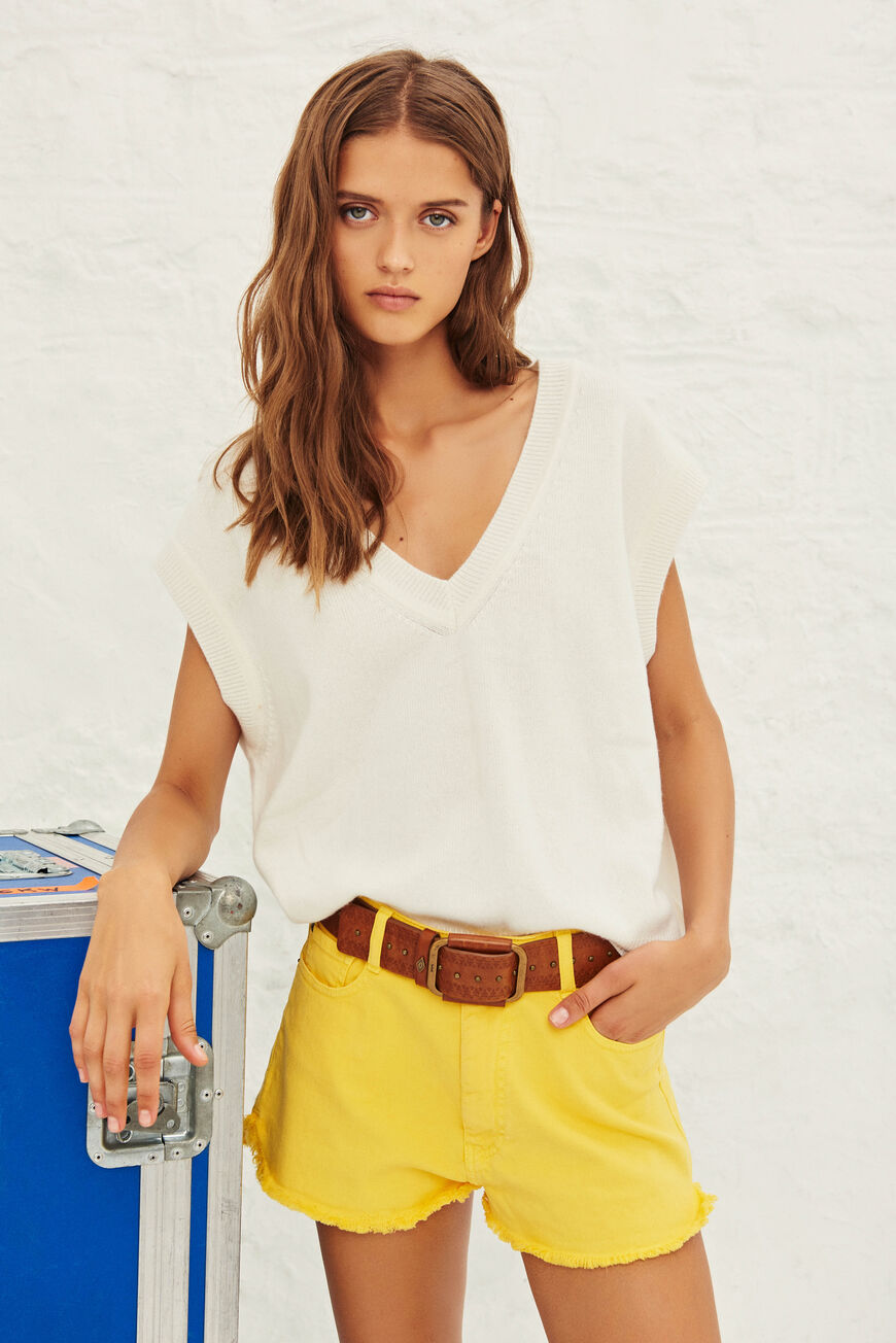 SHORTS CLUEGO TROUSERS JAUNE