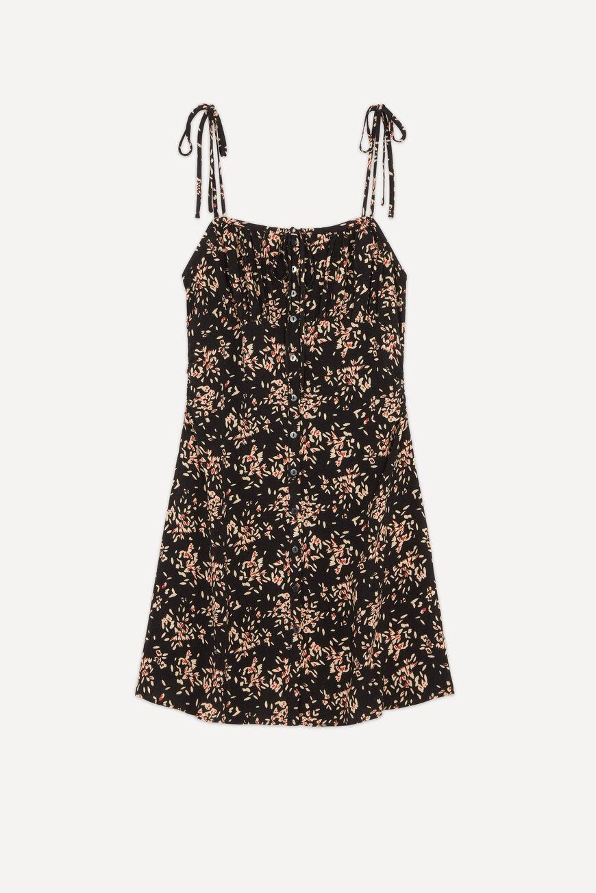 DRESS VOLVER MINI DRESSES NOIR