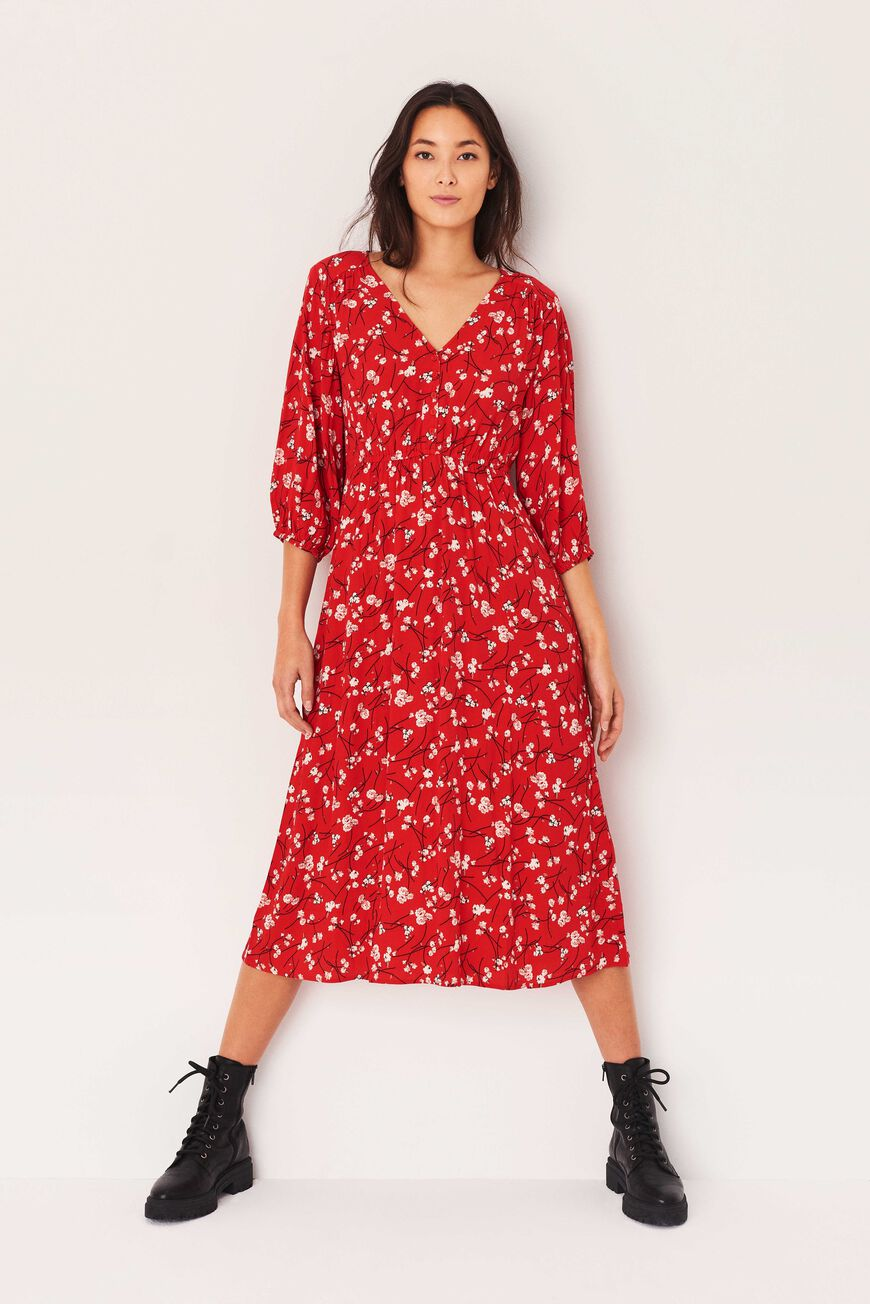 DRESS GINA MIDI DRESSES