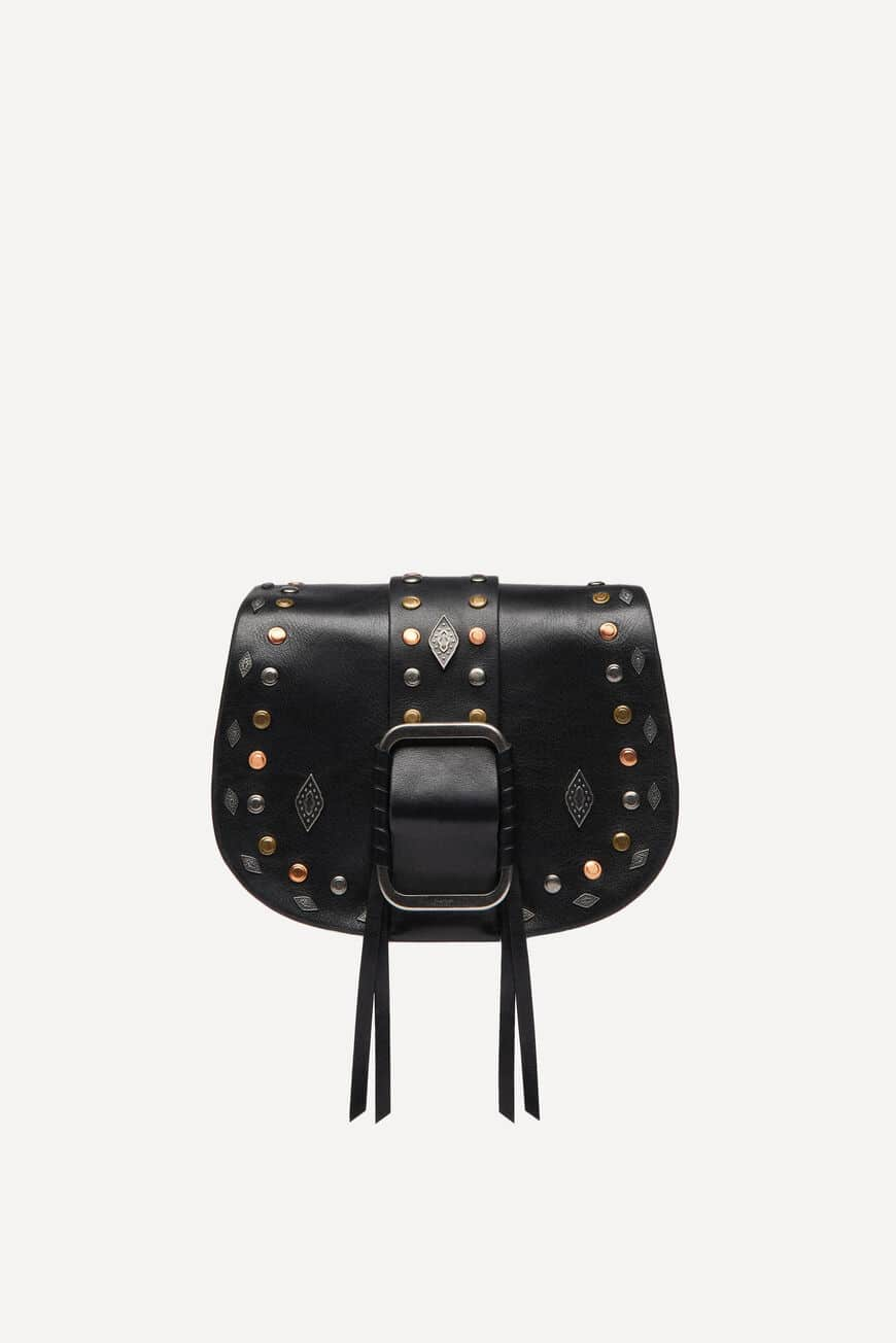 SAC TEDDY CROSSBODY BAGS NOIR