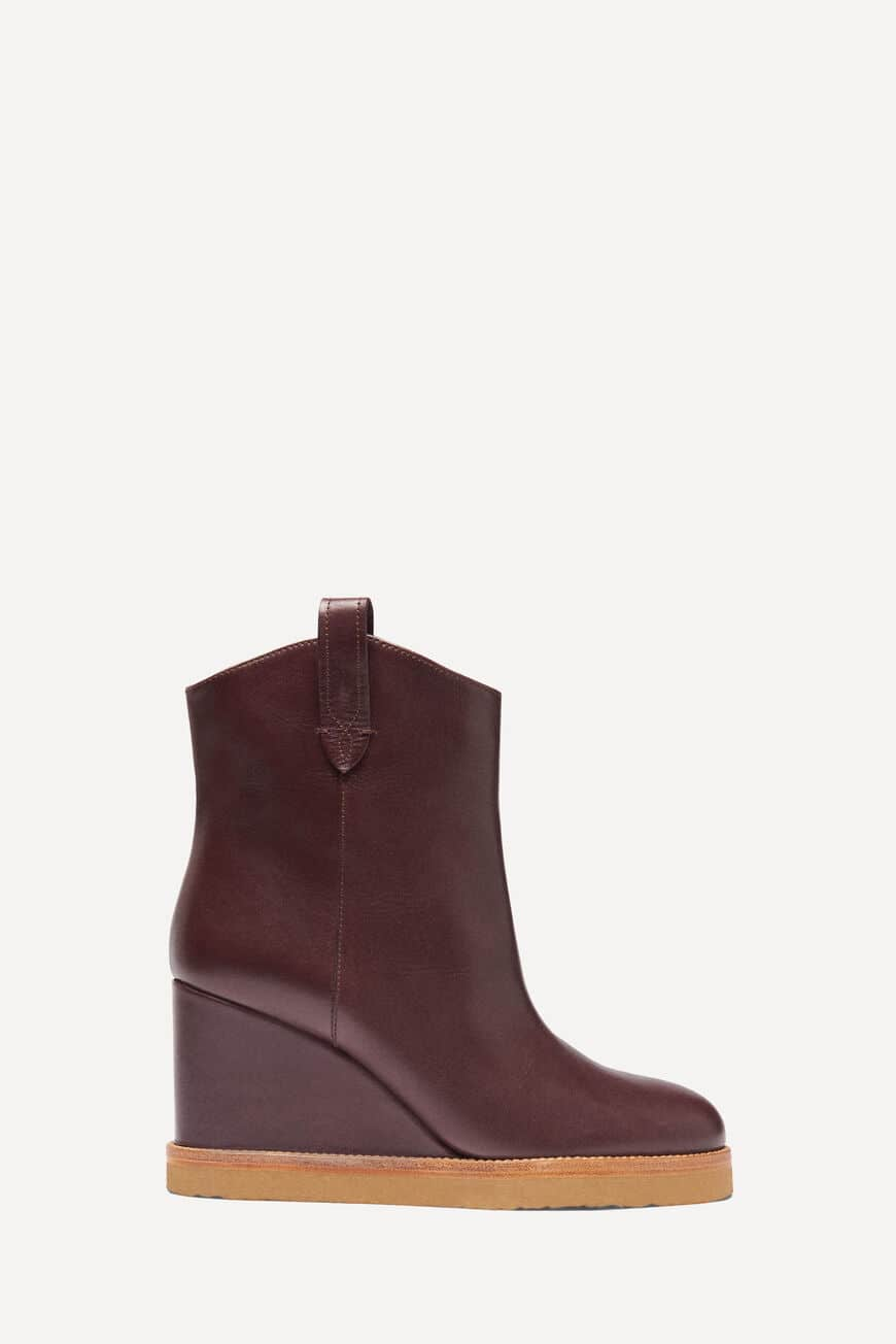 BOTTINES CRISTINA BOOTS & BOTTINES BORDEAUX