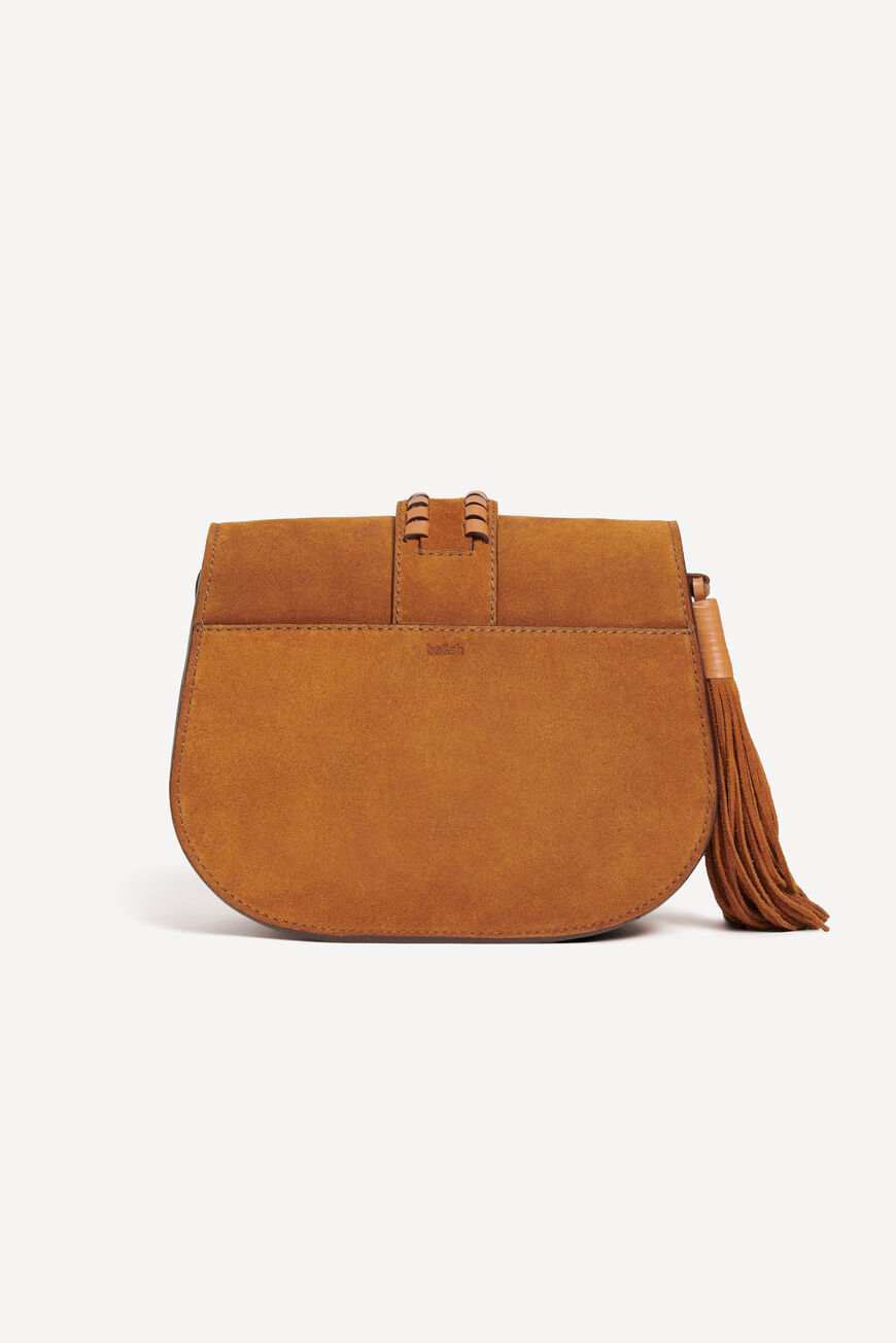 TEDDY M SUEDE BAG Main