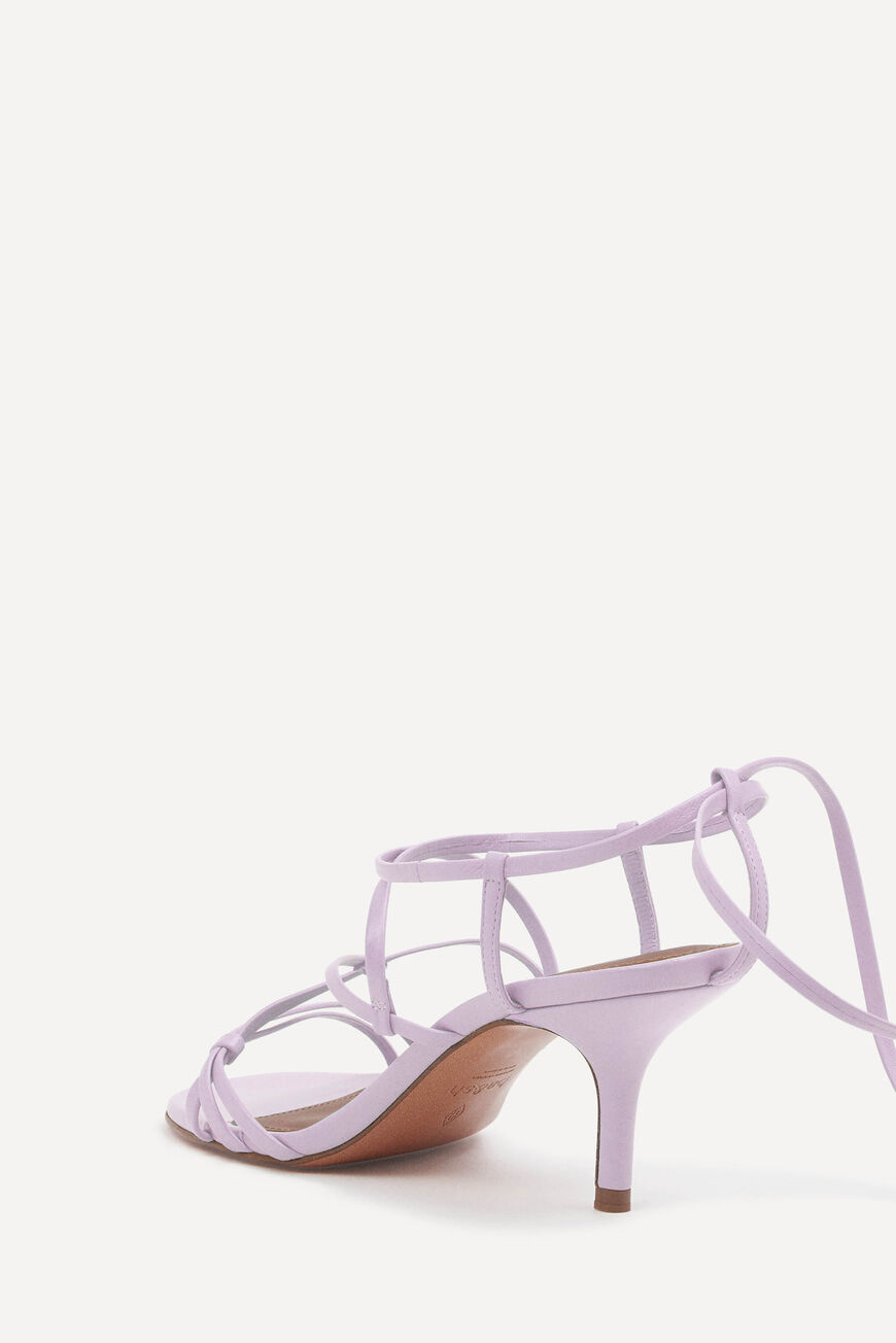 SANDALES CELLY CHAUSSURES LILAS